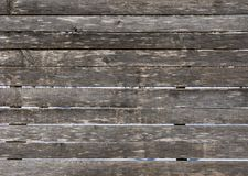 Old rough wooden fence background Stock Images