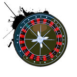 Old roulette wheel Royalty Free Stock Photo