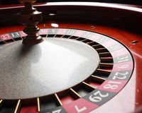 Old Roulette wheel. casino series. Royalty Free Stock Image