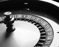 Old Roulette wheel. casino series. Stock Image