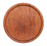 Old round cutting board Royalty Free Stock Photo