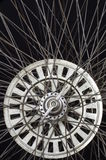 Old round spokes Stock Image