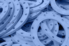 The old round steel Royalty Free Stock Image