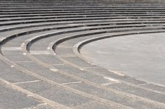 Old Round Steps Royalty Free Stock Photography