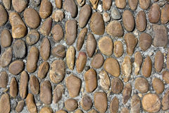 Old rounded cobblestones Royalty Free Stock Image