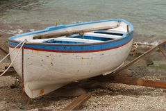 Old row boat Royalty Free Stock Image