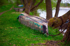 Old row boat Royalty Free Stock Images
