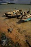 Old row boat Royalty Free Stock Photos