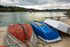 Old row boats Stock Image