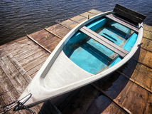 Old rowboat Stock Photography