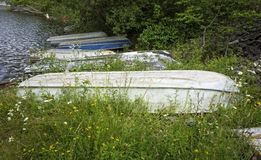 Old Rowboats Royalty Free Stock Image