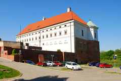 Old royal Castle in Sandomierz, Poland. Royalty Free Stock Photos