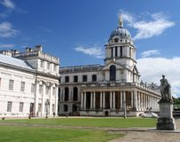 The Old Royal Naval College Royalty Free Stock Image
