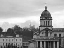 Old royal naval college in greenwich Stock Image