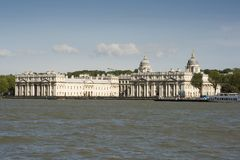 The Old Royal Naval College in Greenwich Stock Photo