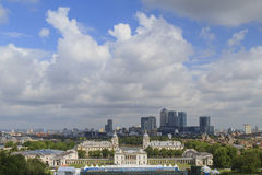 The Old Royal Naval College in Greenwich area near London Royalty Free Stock Photography