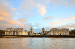 Old Royal Naval College, Greenwich, UK Royalty Free Stock Photo