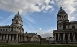 Old Royal Naval College, London, England, October 3rd, 2017. Old Royal Naval College in London, England, October 3rd, 2017 royalty free stock images