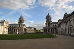 Old Royal Naval College, London, England, October 3rd, 2017. Old Royal Naval College in London, England, October 3rd, 2017 royalty free stock photo