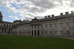 Old Royal Naval College, London, England, October 3rd, 2017. Old Royal Naval College in London, England, October 3rd, 2017 stock image