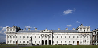 Old Royal Naval College near the River Thame Royalty Free Stock Photography