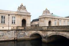 Old royal palace in Copenhagen Stock Photos