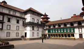Old Royal Palace, Durbar Square in Kathmandu Royalty Free Stock Image