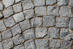 Old Royal pavers. Ancient paving of St. Petersburg Royalty Free Stock Photos