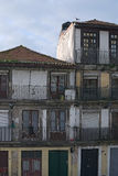 Old rsidential buildings. The most famous neighborhood in the city of Porto – Ribeira. Stock Photo