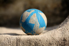 Old rubber ball Royalty Free Stock Photography