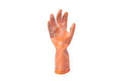 Old rubber glove Royalty Free Stock Photography