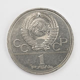 Old ruble Stock Image