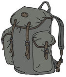 Old rucksack Royalty Free Stock Photo