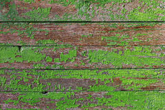 Old rude painted plank boards as a background Royalty Free Stock Image