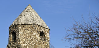 Old ruin banner Royalty Free Stock Photography