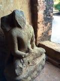 Old ruin buddha in Myanmar Stock Photography