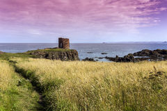 Old ruin in Elie Coast Royalty Free Stock Photography