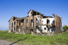 Old ruin house. An old ruin house, can not be repaired, so destroyed Royalty Free Stock Images