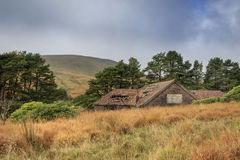 Old ruin house. In wales Stock Images
