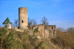 Old Ruin In Tne South Bohemian. Royalty Free Stock Image