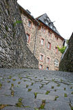Old ruin monschau Royalty Free Stock Photos