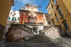 Old ruin in Naples Stock Photo