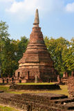 Old and ruin pagoda at Kamphaeng Phet Historical Park,Thailand Stock Photos