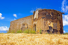 Old ruin in Portugal Royalty Free Stock Photo
