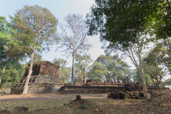 Old ruin. Temple in Thailand Royalty Free Stock Images