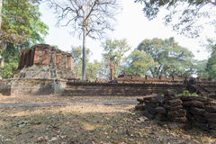 Old ruin. Temple in Thailand Royalty Free Stock Photos