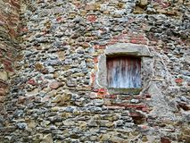 Old ruin wall Royalty Free Stock Photos
