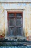 Old ruin wood window Stock Photos