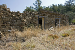 Old ruine on rhodos island Royalty Free Stock Image