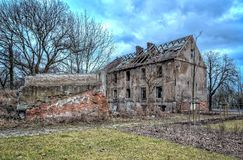Old ruined building. Stock Images